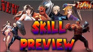 Ran Online GS New Class 2016- Shaper Skills Review