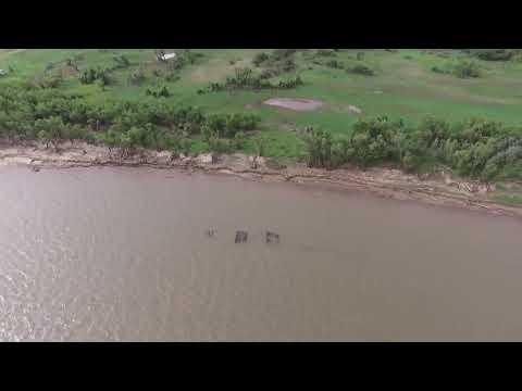 La manta del Túnel Subfluvial desde el drone del Nueve