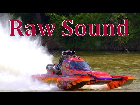 "Drag-boats with Raw Sound 35mins ""SDBA in Waco Texas"""