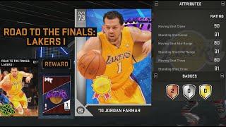 NBA 2K16 Reward Jordan Farmar Attribute Ratings & Badges
