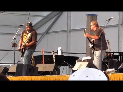 Jazz Fest 2011 28 Alvin Youngblood Hart At Blues Tent