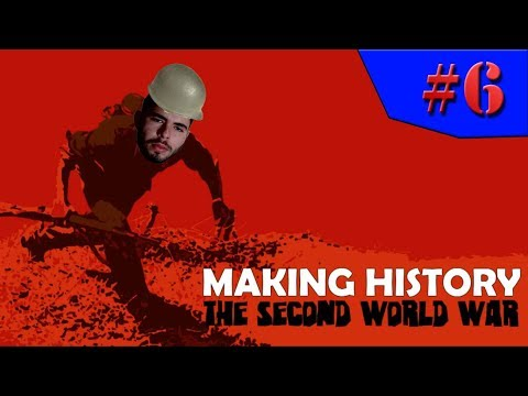 Making History: The Second World War - SOMOS UMA POTÊNCIA INDUSTRIAL!!! #6 (Gameplay / PC / PTBR) HD