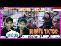 MALAYSIA REACTION | JOGET TIKTOK JEDAG JEDUG, JOGET DI LAMPU MERAH BARENG SI RATU TIKTOK