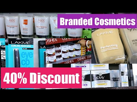 Branded Cosmetics at Huge Discount | Kolkata Branded Cosmetic Market Revealed