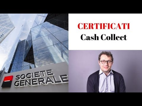 CERTIFICATI CASH COLLECT SOCIETE GENERALE