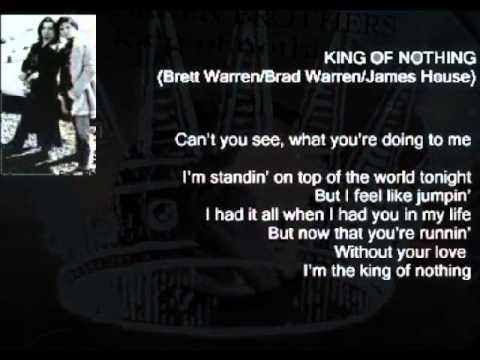 Warren Brothers - King Of Nothing ( + lyrics 2000)