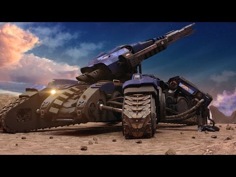 THE TANK -starcraft siege tank animation