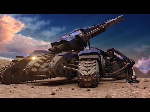 THE TANK -starcraft siege tank animation