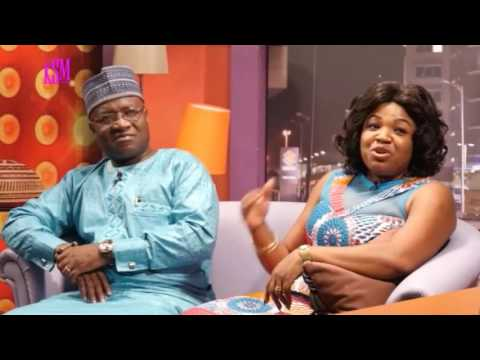 KSM Show- Hon Osei Kyei Mensah Bonsu and his wife hanging out with KSM Part 1