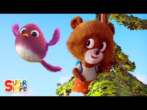 The Bear Went Over The Mountain | Nursery Rhyme | Super