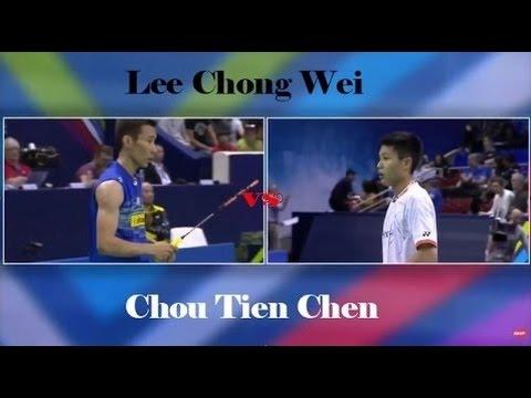 Lee Chong Wei highlights Chou Tien Chen - Final Hong Kong Open 2015