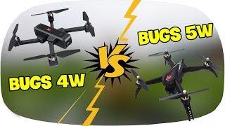 LKRC - So Sánh Flycam BUGS 4W Với Flycam BUGS 5W