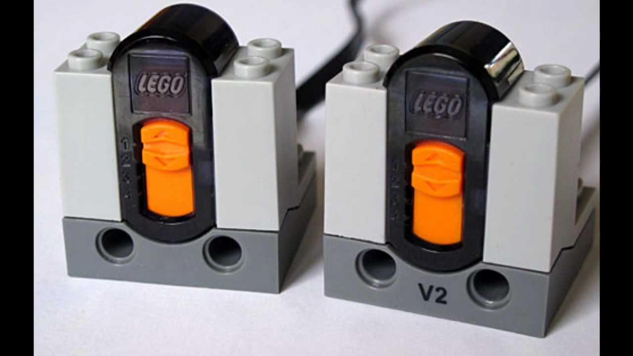 LEGO Power Functions IR receiver V1 and V2 comparison ...