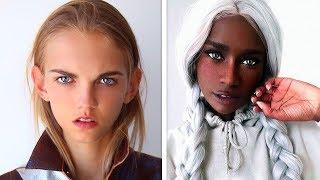 10 ungewöhnliche Menschen, die einzigartig aussehen! Hübsche Menschen