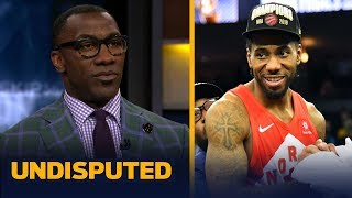 Kawhi Leonard has a 60% chance of staying with the Raptors — Shannon Sharpe | NBA | UNDISPUTED