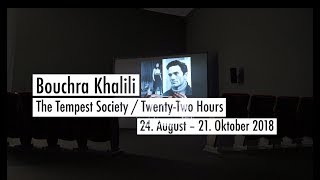 Bouchra Khalili. The Tempest Society / Twenty-Two Hours