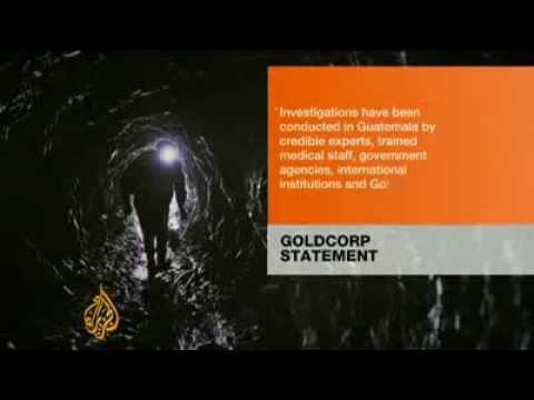 Guatemala mine 'exploiting' locals (From Al Jazeera)