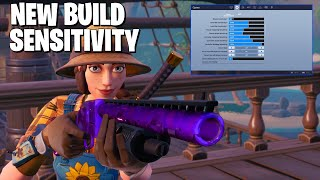 Trying A Higher Build Sensitivity Made Me CRACKED (Fortnite Battle Royale) Insane Game