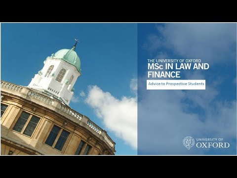 Advice to prospective students from alumni - MSc in Law and Finance