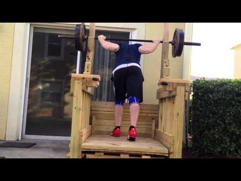 Wooden Squat Rack