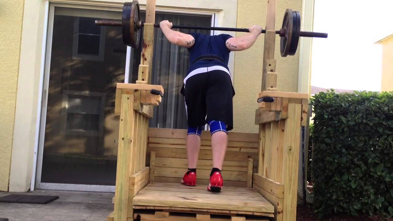 Wooden Squat Rack Youtube