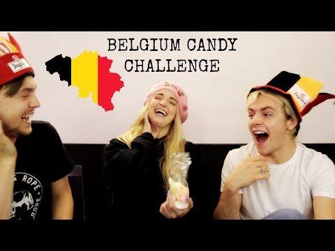 Belgium Candy Challenge   Rydel Lynch