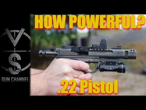 How Powerful is IT?  .22 Pistol