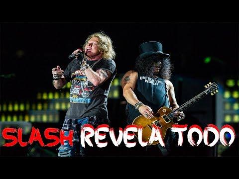 La verdadera historia de la reconciliación de Slash y Axl Rose