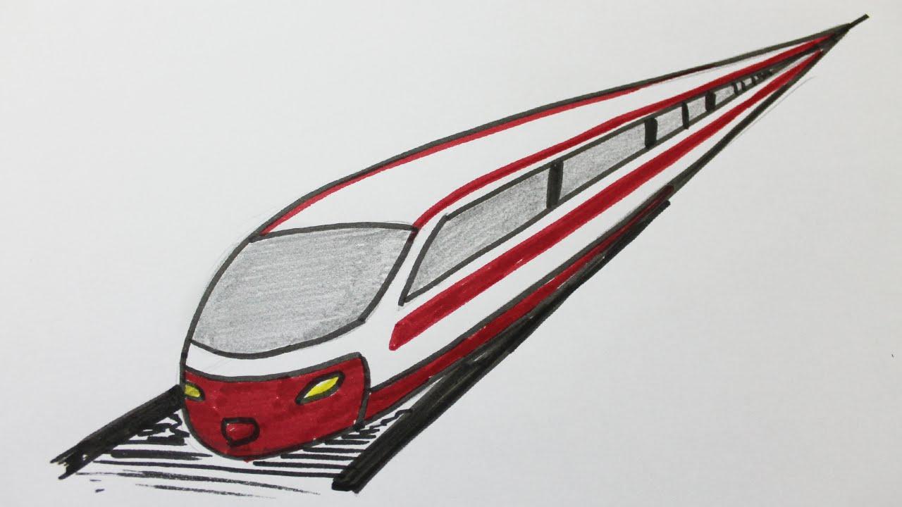 Comment dessiner un train youtube - Comment dessiner un train ...