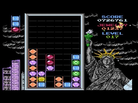Magic Jewelry - NES Gameplay