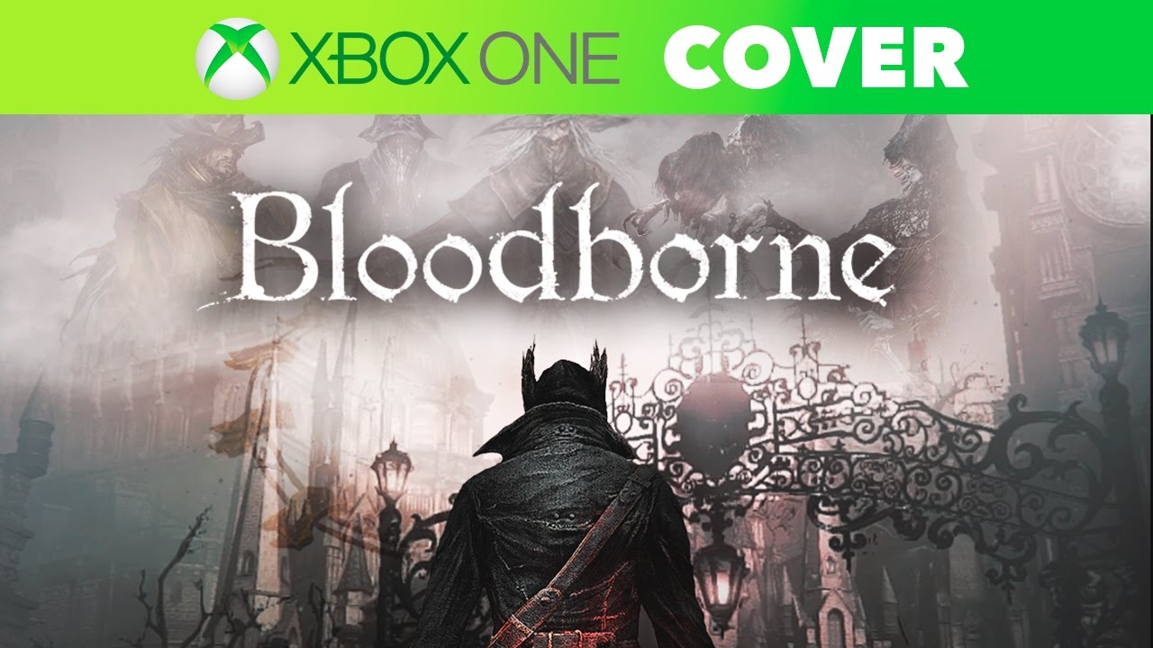 Book Cover Drawing Xbox One : Bloodborne xbox one edition speed art cover youtube