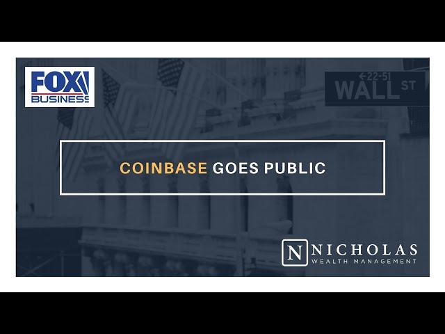 Coinbase Goes Public