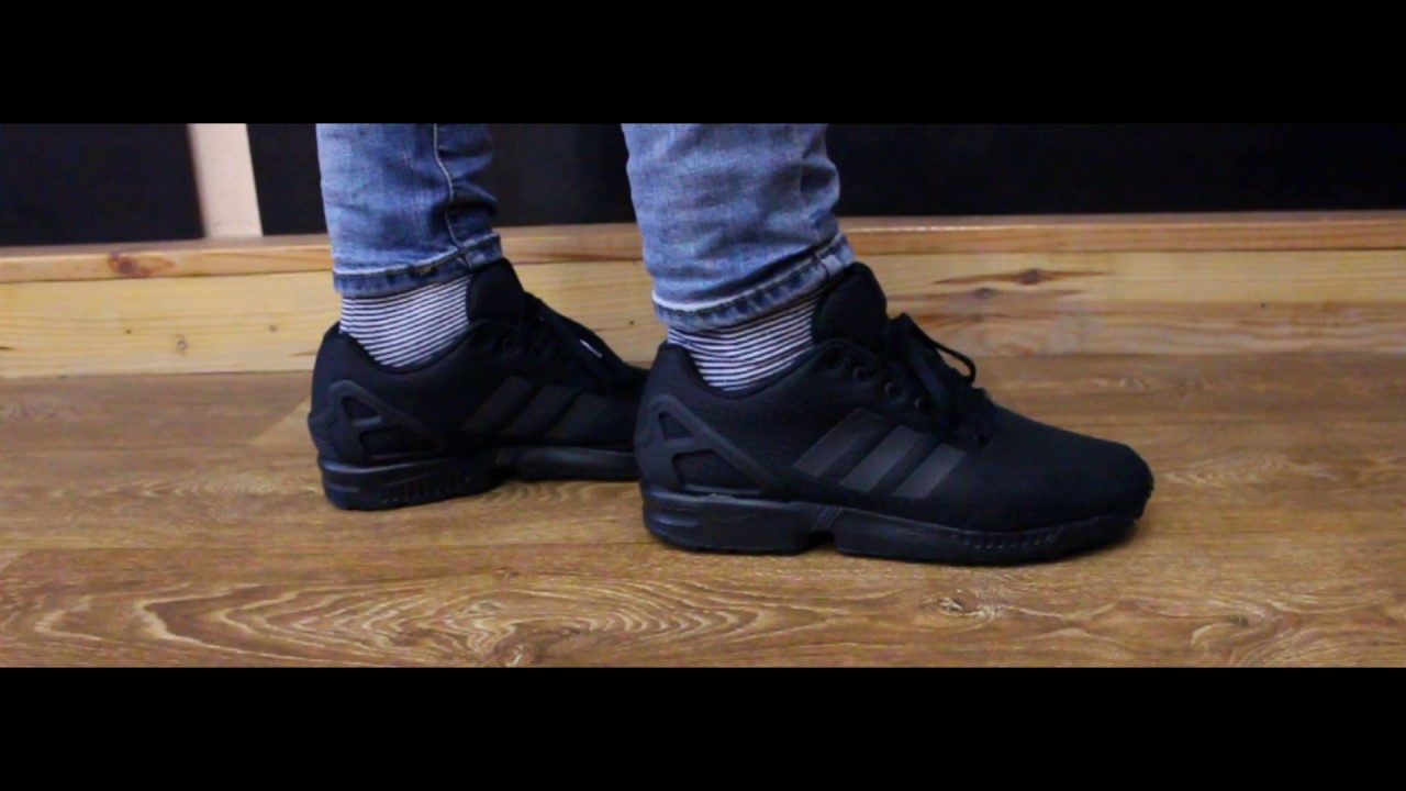 size 40 176a7 89e83 Review | Adidas ZX Flux Triple Black