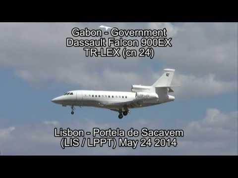 Gabon - Government Dassault Falcon 900EX TR-LEX (cn 24)