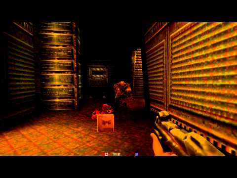 Quake 2 Demo Loop/Attract Mode with CDA Music - HD 1080p