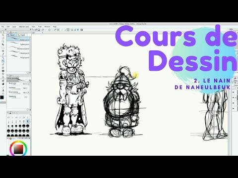 Cours Sur Tablette Wacom Cintiq - Le Nain De Naheulbeuk
