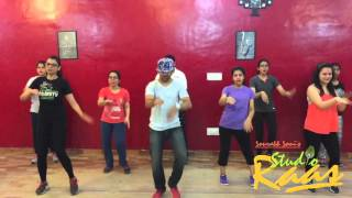 akkad bakkad | SANAM RE | BEGINNERS | BOLLYWOOD FITNESS | ZUMBA | STUDIO RAAS