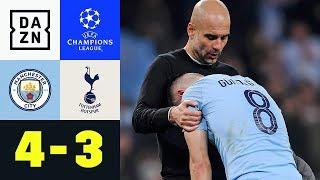 Bitteres Aus für Pep Guardiola: Manchester City - Tottenham Hotspur 4:3 | Champions League