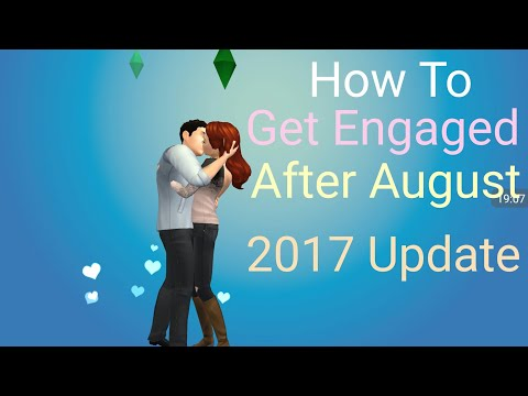 the-sims-mobile---how-to-get-engaged-+-married-after-august-update-2017