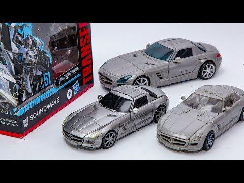 Transformers Movie 3 DOTM Studio Series Deluxe SS-51 Soundwave Benz SLS Vehicles Car Robot Toys