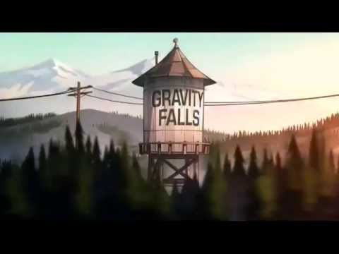 Gravity Falls Theme Songs Forward And Backwards - YouTube
