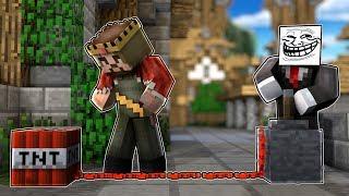 TROLL ADAM ZENGİNİ TROLLÜYOR! 😱 - Minecraft
