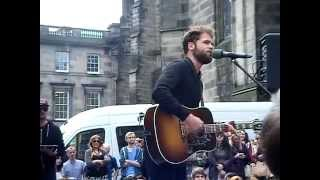 Passenger- Scare Away the Dark. Live in Edinburgh