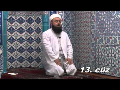 Fatih Medreseleri Masum Bayraktar Hoca Mukabele 13  Cüz 22