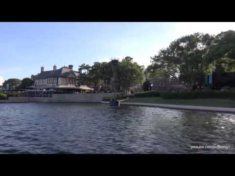 Epcot Friendship Boat from Canada to Morocco - Walt Disney World HD 1080p