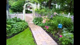 Small garden arbor ideas.
