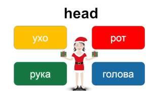 Английский язык онлайн – части тела – повтор для детей – EnTube