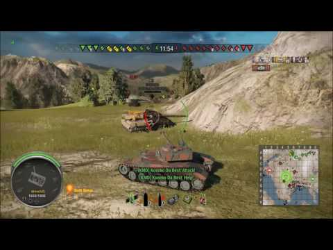 WoT Xbox - MapQuest - Fjords - Bat Chat 25t