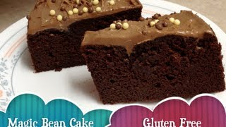 Chocolate Magic Bean Cake Gluten Free Grain Free Vegetarian Thermochef Recipe Cheekyricho