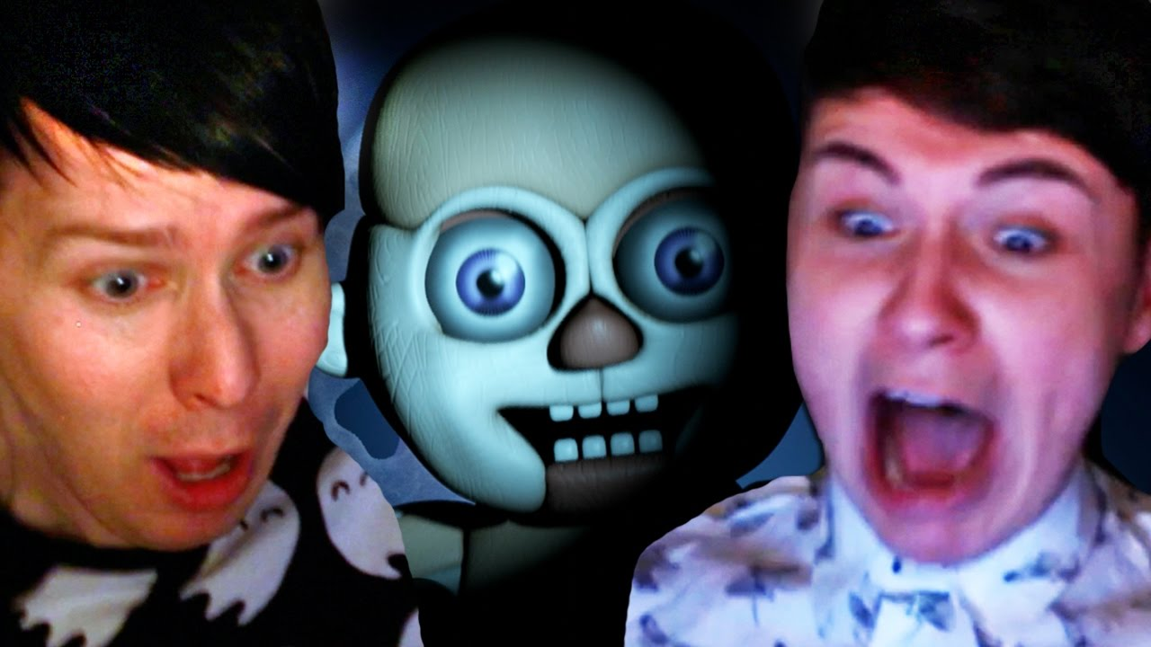 Dan And Phil Play Five Nights At Freddys Sister Location Youtube